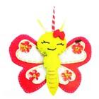 Набор для создания подвески из фетра «Бабочка» - фото 691490