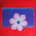 Набор для создания кошелька из фетра «Цветочек» - фото 398125