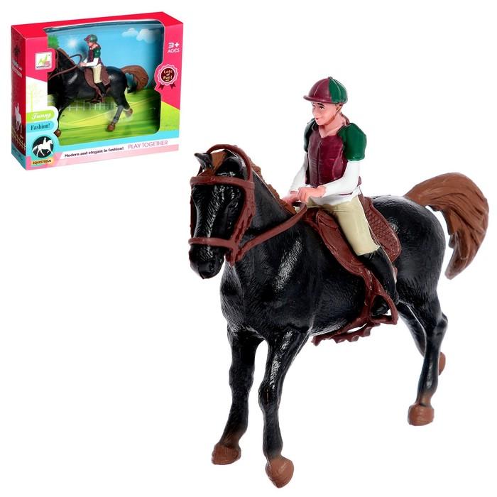 Набор игровой лошадка с куклой, с аксессуарами