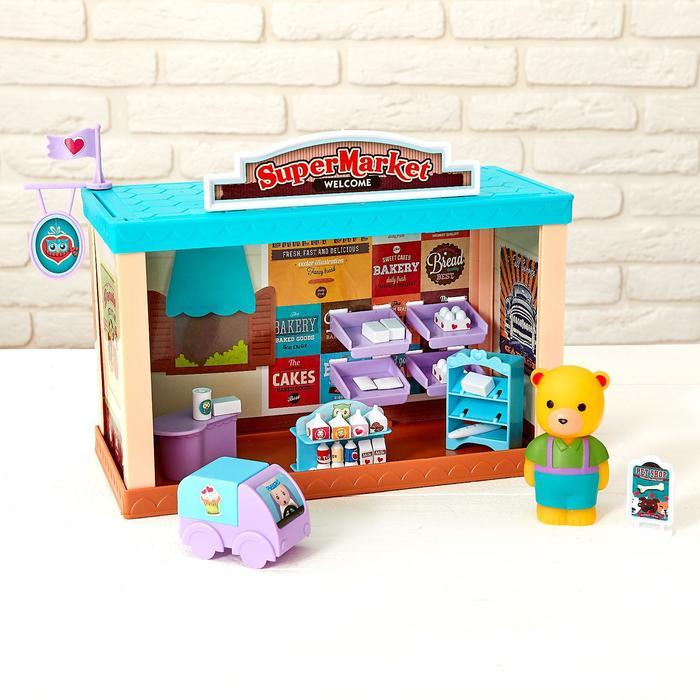 Набор игровой «Магазин с питомцами» с аксессуарами
