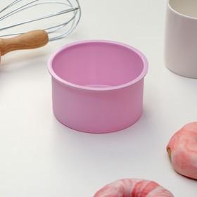 {{photo.Alt || photo.Description || 'Форма для выпечки «Круг», 9,5×5,4 см, цвет МИКС'}}