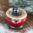 Матрёшка 3-х кукольная «Мышка» МИКС - фото 2240121