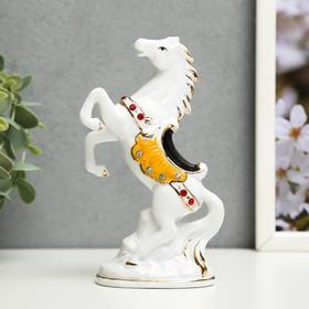 сувенир керамика под фарфор конь на дыбах 15,5*10,5*4,3 см в Донецке