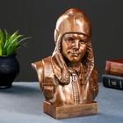 Бюст Гагарин Ю.А., бронза 25х17см