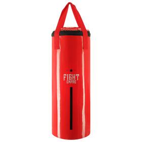 Мешок боксёрский FIGHT EMPIRE, на ленте ременной, красный, 60 см, d=23 см, 11 кг