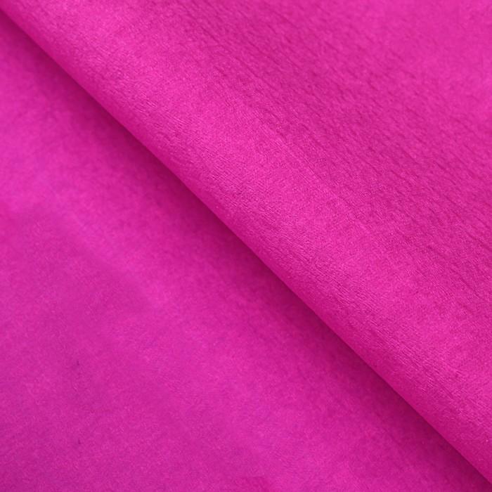 Бумага тишью, 50 х 200 см, гофрированная, розовый