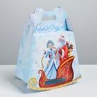 Складная коробка «Подарок от Деда Мороза», 23 × 29 × 11 см
