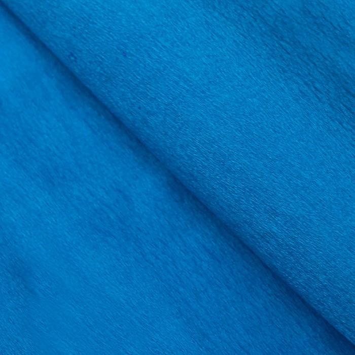 Бумага тишью, 50 х 200 см, гофрированная, голубая