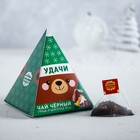 """Tea in the pyramids """"good Luck"""", a pear and chocolate (10 PCs)"""