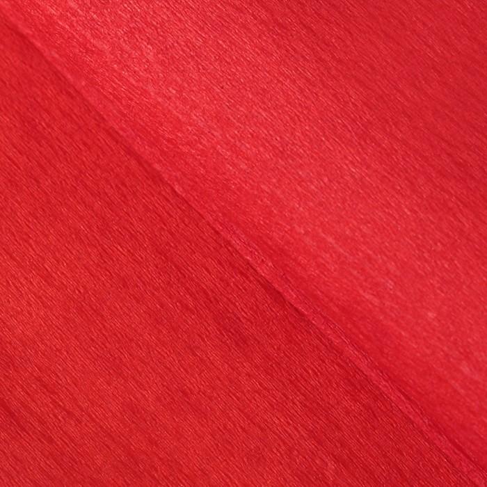 Бумага тишью гофрированная, цвет красный
