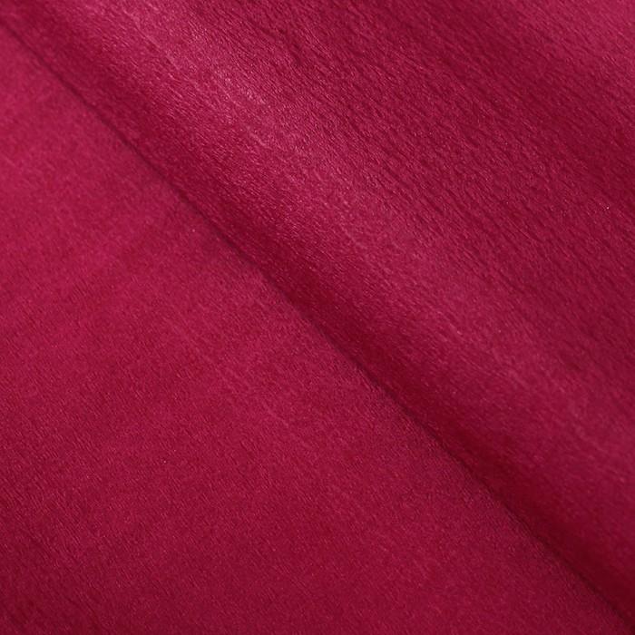 Бумага тишью гофрированная, цвет малиновый