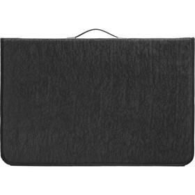 Папка-Портфолио А2 с ручками на кольцах текстиль 700 х 465 х 30 мм, чёрная, (текстилная), Estado