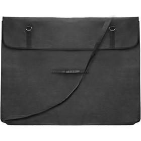 Сумка для планшета с ручками формата А1, 880 х 650х 70 мм, с клапаном, чёрная , Estado