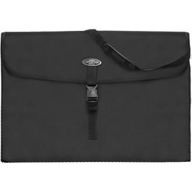 Сумка для планшета формата А2, 640 х 450 х 80 мм, с клапаном, чёрная, Estado