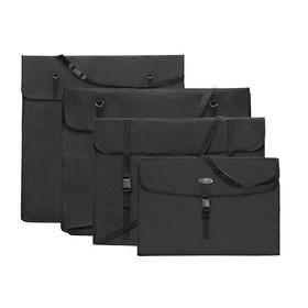 Сумка для планшета формата А1, 750 х 550 х 80 мм, цвет черный, Estado