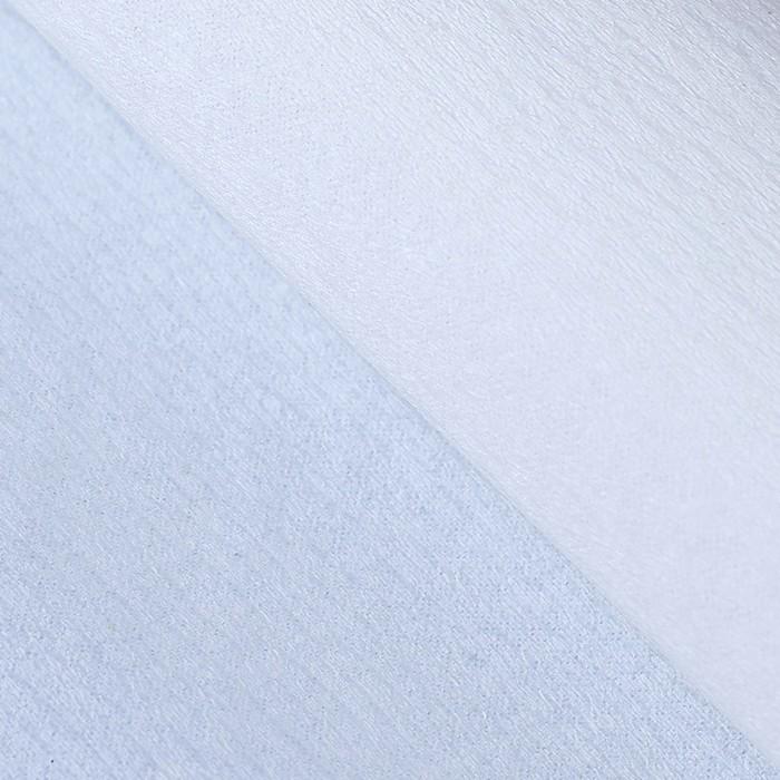 Бумага тишью, 50 х 200 см, гофрированная, белый