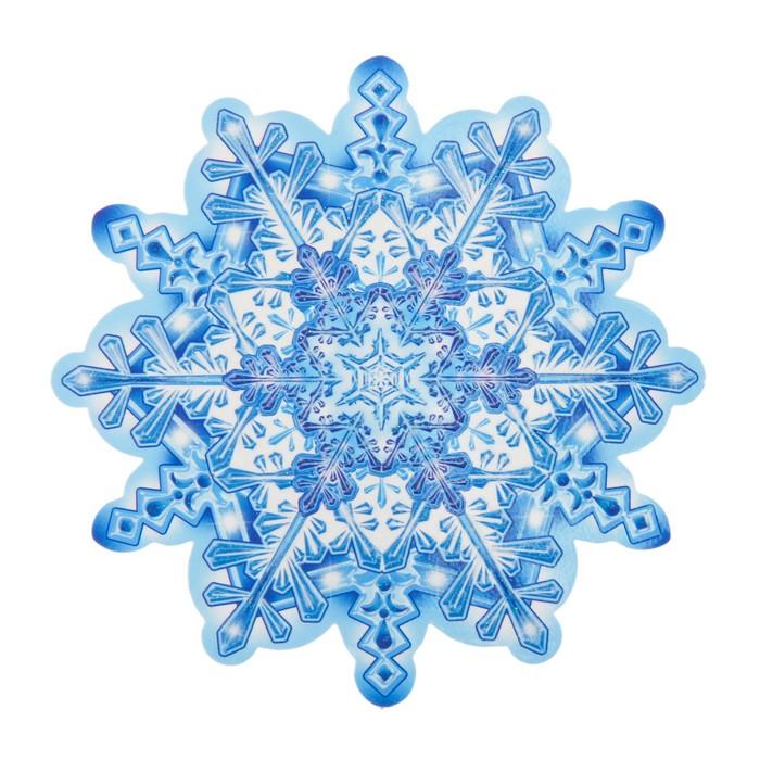 Снежинка открытка картинка