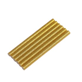 Glue sticks TOPEX 42E181, gold with sparkles, 8x100 mm, 6 pcs.