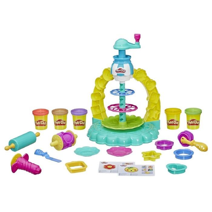 Игровой Набор Hasbro Play-Doh «Карусель сладостей»