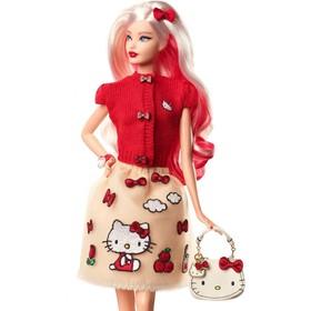 Коллекционная кукла Barbie «Hello Kitty»
