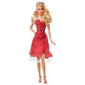 Коллекционная кукла Barbie, в красном платье