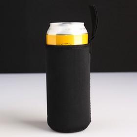 Чехол для бутылки 14х6,5см, цвет микс Ош