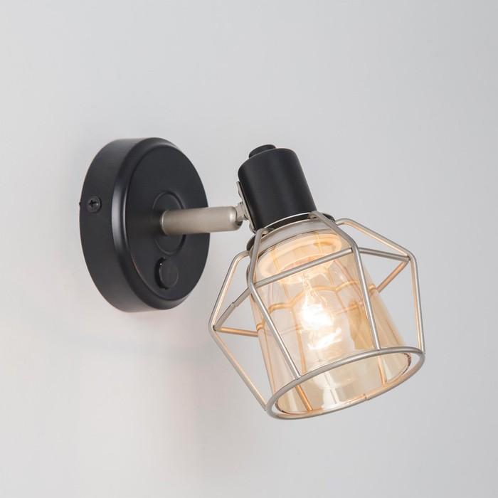 Светильник Таверна, 1x60Вт Е14 чёрный