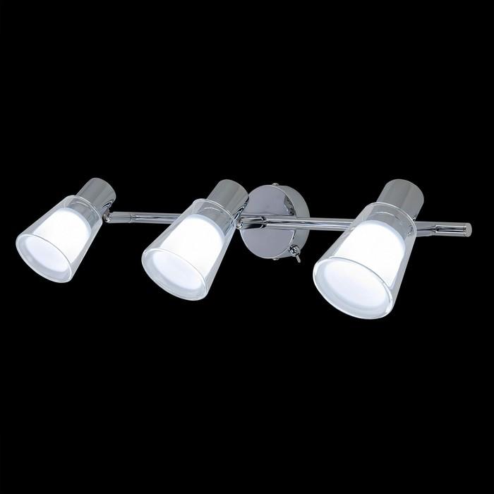 Светильник Поинт, 12Вт LED, 960Lm, 4000K, хром