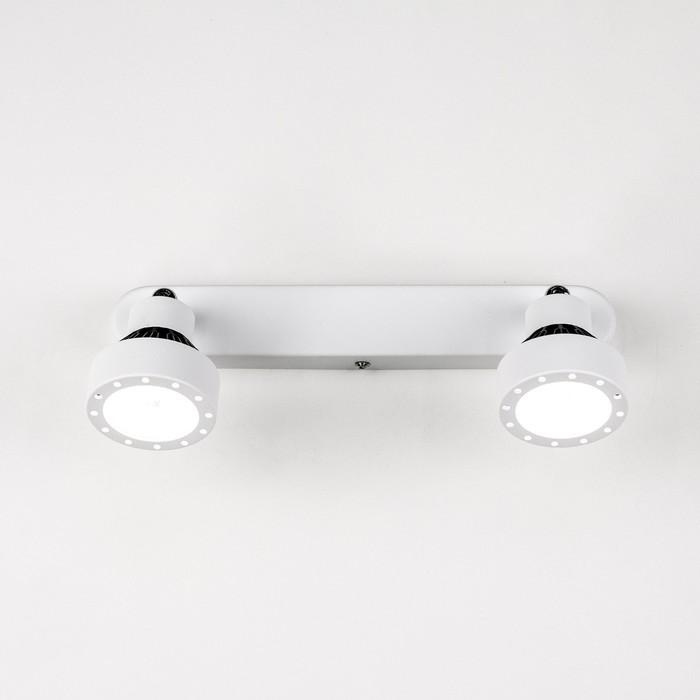 Светильник Данди, 2x7Вт LED, 1050Lm, 3000K, белый