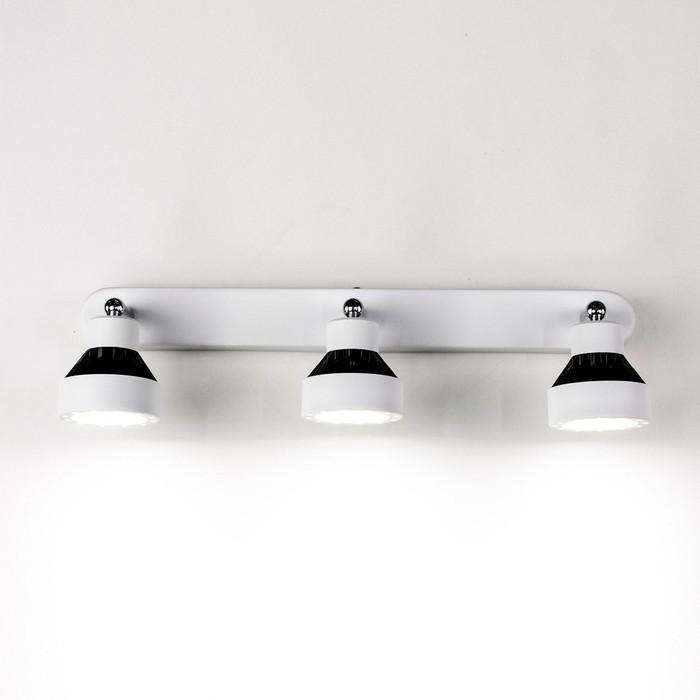 Светильник Данди, 3x7Вт LED, 1575Lm, 3000K, белый