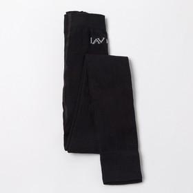 Леггинсы детские, цвет чёрный, рост 110-116