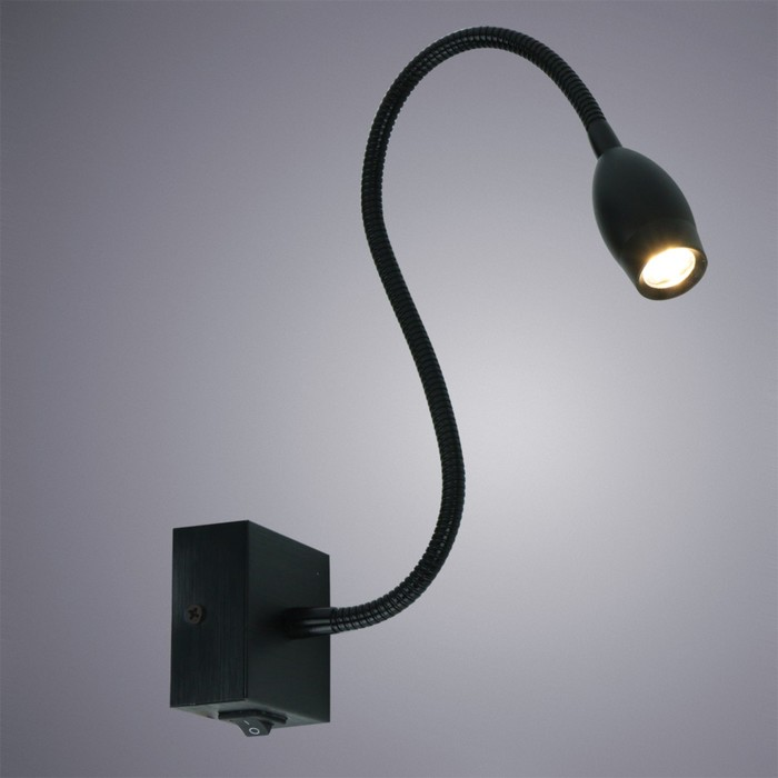 Светильник Scorcio, 3Вт LED, чёрный