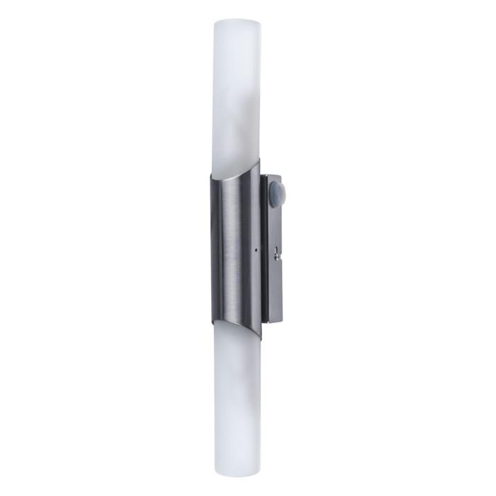 Светильник AQUA, 2x40Вт E14, серебро