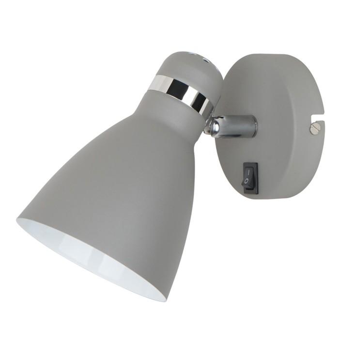 Светильник Mercoled, 1x40Вт E27, серый