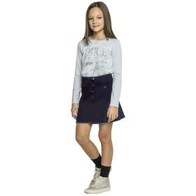 Юбка для девочек, рост 158 см, цвет синий