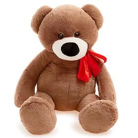 Мягкая игрушка «Медведь Марк», цвет тёмный, 80 см