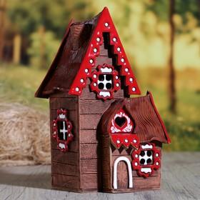 "Oil burner House ""Barbara"", 22 cm, hand made, mix"