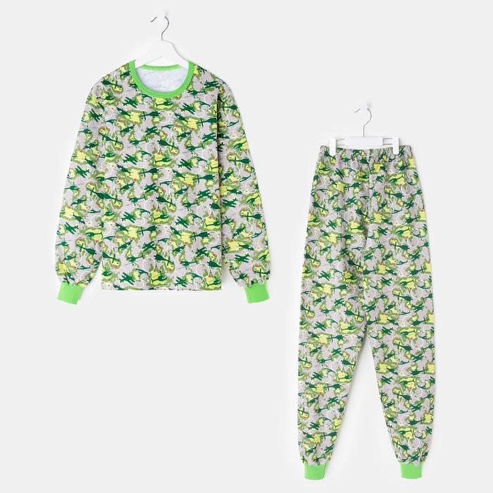 Пижама для мальчика «Машины», цвет тёмно-синий, рост 116 см