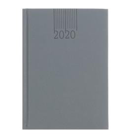 Ежедневник датированный 2020 г, B6, 176 листов deVENTE Navigator, искусственная кожа, тонированный блок, ляссе, цветной форзац, серый Ош