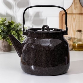 Чайник 3,5 л, без деколи, цвет коричневый