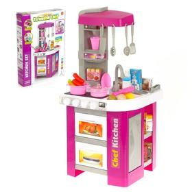 Игровой модуль кухня «Талантливый повар», со световыми и звуковыми эффектами, цвета МИКС