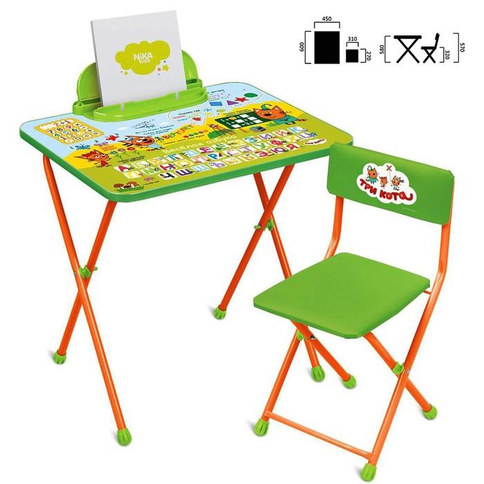 Набор мебели «Три кота», стол, стул мягкий