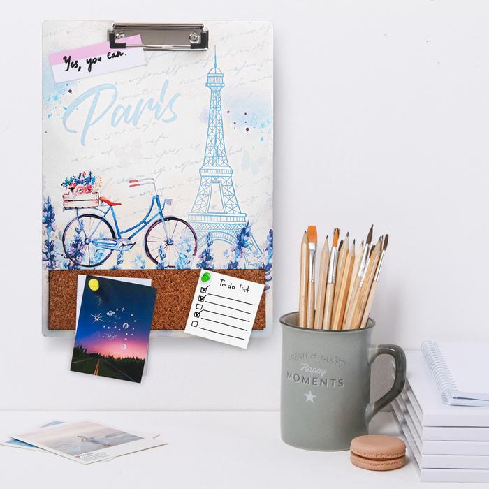 Настенный планшет, дерево Paris