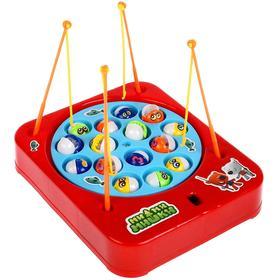 Игровой набор «Рыбалка. Ми-ми-мишка», работает от батареек
