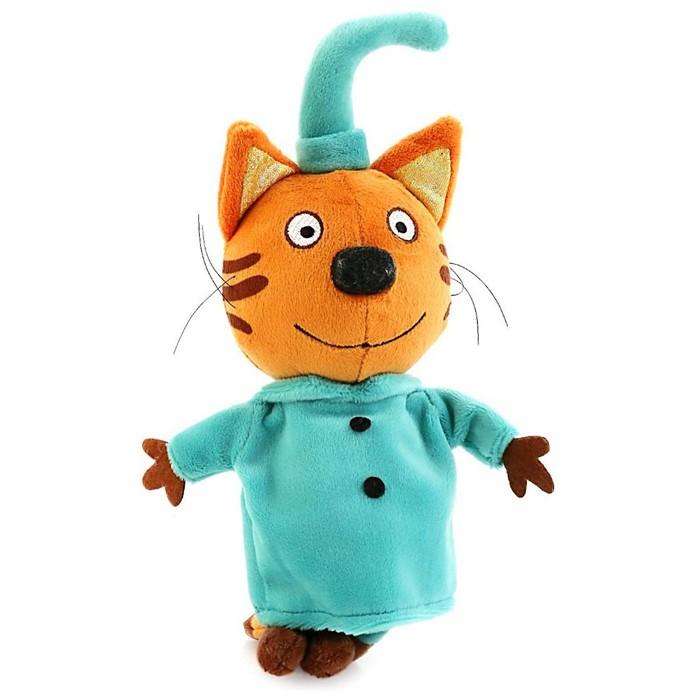 Мягкая игрушка «Три кота. Компот» 16 см, звуковые функции - фото 641102