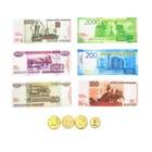 Игровой набор касса с деньгами «Мороженое» - фото 105582848
