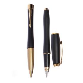 Набор Parker Urban Core FK200 Muted Black GT, ручка перьевая, ручка шариковая (2093381)