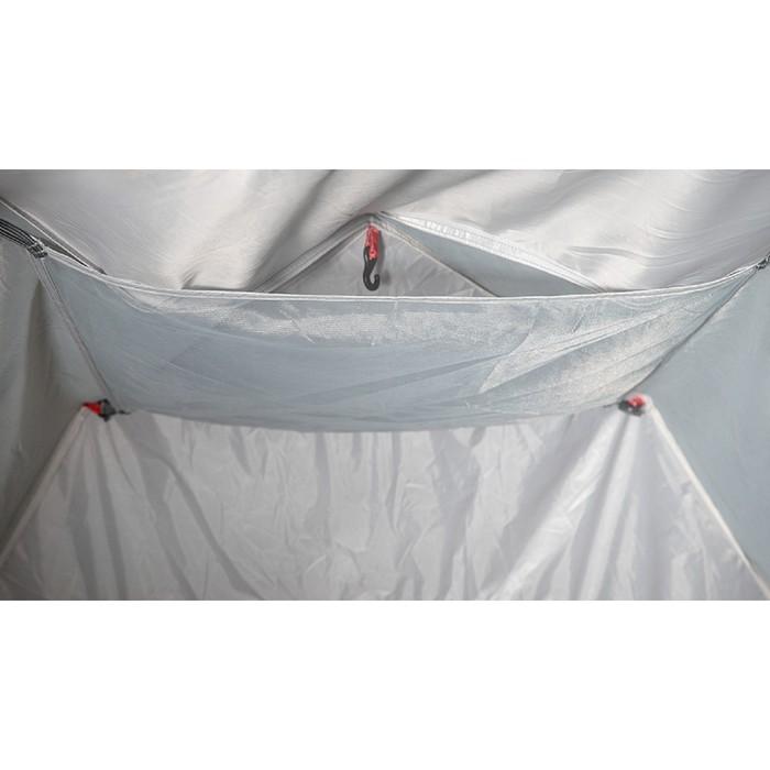 Палатка кемпинговая «Alcor 3», синий/серый - фото 36311