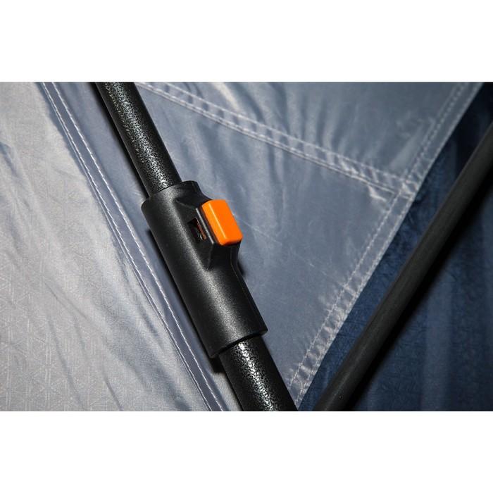 Палатка кемпинговая «Antares 4», синий/серый - фото 36316