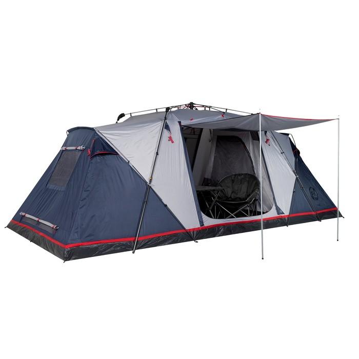 Палатка кемпинговая «Sirius 6», синий/серый - фото 35234